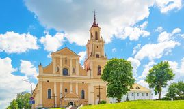 Kościół nabycie Święty krzyż obraz stock