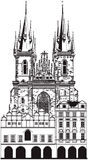 Kościół Nasz dama Zdjęcia Stock