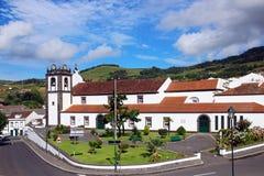 Kościół Nasz dama aniołowie na Sao Miguel wyspie, Azores Zdjęcie Royalty Free