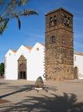 Kościół Nasz dama Candelaria, Fuerteventura Obraz Stock