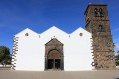 Kościół Nasz Dama Candelaria w Los Angeles Oliva Obrazy Royalty Free