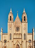 Kościół Nasz dama góra Carmel, święty Julians, Malta Obrazy Stock