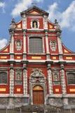 Kościół Nasz dama Niepokalany poczęcie w Liege zdjęcia royalty free