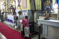 Kościół Nasz dama różaniec murzyni zdjęcia royalty free