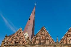 Kościół Nasz dama w Bremen, Niemcy obrazy stock
