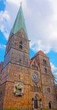 Kościół Nasz dama w Bremen w Niemcy obraz royalty free