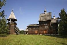 Kościół Nasz dama w Khokhlovka Perm krai, Rosja obrazy royalty free