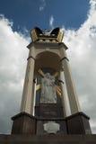 Kościół, niebo, Ukraina, Zarvanytsia fotografia royalty free