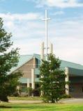 kościół nowoczesnego zewnętrznych. Zdjęcia Stock
