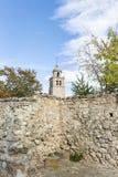 Kościół Nuestra señora De Los angeles asuncià ³ n w Medinaceli Fotografia Royalty Free