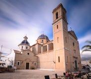 Kościół Nuestra señora Del Consuelo lub Losu Angeles Klacz De Déu del Consol (Nasz dama utulenie) obraz royalty free