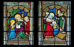 Kościół okno Zdjęcie Stock