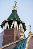 Kościół Ortodoksalna parafia matka bóg ikona Wszystkie dotknięty fotografia royalty free