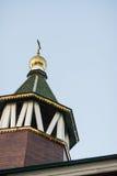 Kościół Ortodoksalna parafia matka bóg ikona Wszystkie dotknięty obraz royalty free
