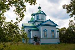 kościół ortodoksyjny drewna zdjęcia royalty free
