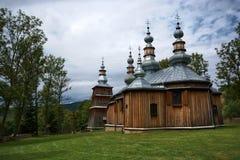 kościół ortodoksyjny drewna zdjęcia stock