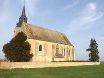 kościół osamotniony Zdjęcia Royalty Free