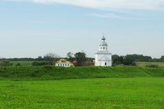 kościół osamotniony Zdjęcie Royalty Free