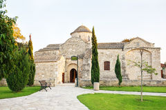 Kościół Panayia Angeloktist Fotografia Stock