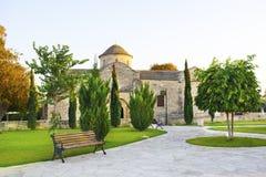 Kościół Panayia Angeloktisti, Cypr, Kiti Fotografia Royalty Free