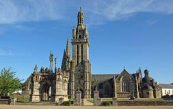 kościół pleyben Obrazy Royalty Free