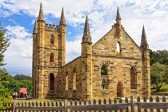 Kościół - port arthur obrazy stock