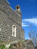 Kościół prymat Peter w Izrael fotografia royalty free