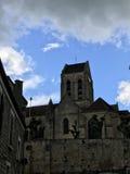 Kościół przy Auvers Zdjęcie Stock