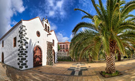 02 kościół przy Garafia los angeles Palma, wyspy kanaryjska (,) Obraz Royalty Free
