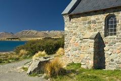 Kościół przy Jeziornym Tekapo, Nowa Zelandia Obraz Stock