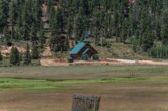 Kościół przy kaczki zatoczki wioską, Utah Fotografia Royalty Free