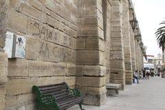 Kościół przy losem angeles Serena Chile Zdjęcia Stock