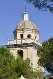 Kościół przy Porto Venere w Włochy Obrazy Stock