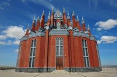 Kościół przy Wewnętrznym Mongolia Zdjęcie Stock