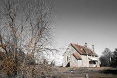 kościół pustkowia Fotografia Stock