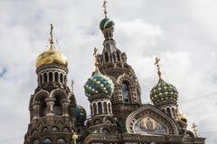 Kościół Resurection´s kopuły Zdjęcie Royalty Free