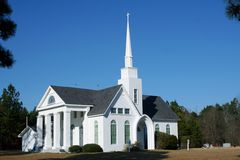 kościół rual sc Fotografia Stock
