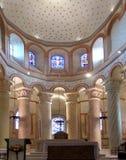 Kościół Rzymsko-Katolicki lokalizować w saint-savin-sur-gartempe zdjęcia royalty free