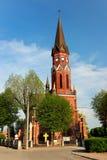 Kościół Rzymsko-Katolicki w Stalowa Wola, Polska Fotografia Royalty Free