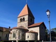 kościół saint sulpice Lozannie Szwajcarii Obraz Royalty Free