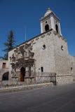 Kościół San Agustin w Arequipa Zdjęcia Royalty Free