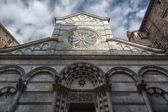 Kościół San Cristoforo, Lucca Zdjęcie Royalty Free