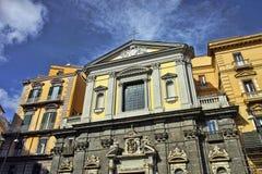 Kościół San Ferdinando Zdjęcia Royalty Free