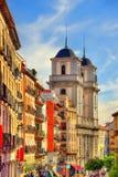 Kościół San Isidro el real w Madryt, Hiszpania zdjęcie royalty free