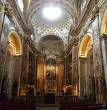 Kościół San Luigi dei Francesi, Rzym, Itlay obraz royalty free