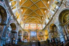 Ko?ci?? San Maurizio al Monastero Maggiore zdjęcia royalty free