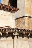 Kościół San Milan, Segovia, Spain Zdjęcia Royalty Free