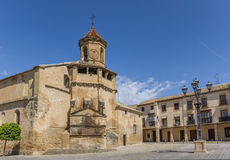 Kościół San Pablo w dziejowym mieście Ubeda zdjęcie stock