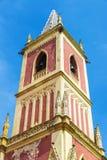 Kościół San Pedro reklamy vincula w Cobreces, Hiszpania fotografia stock