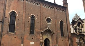 Kościół San Pietro Martire w Verona Obraz Stock